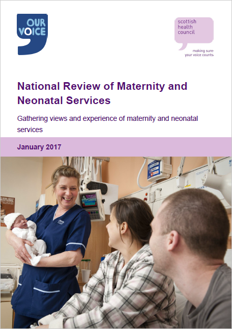 Gathering views and experience of maternity and neonatal services