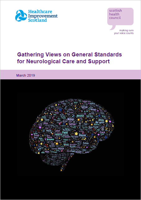 Gathering Views on General Standards for Neurological Care and Support